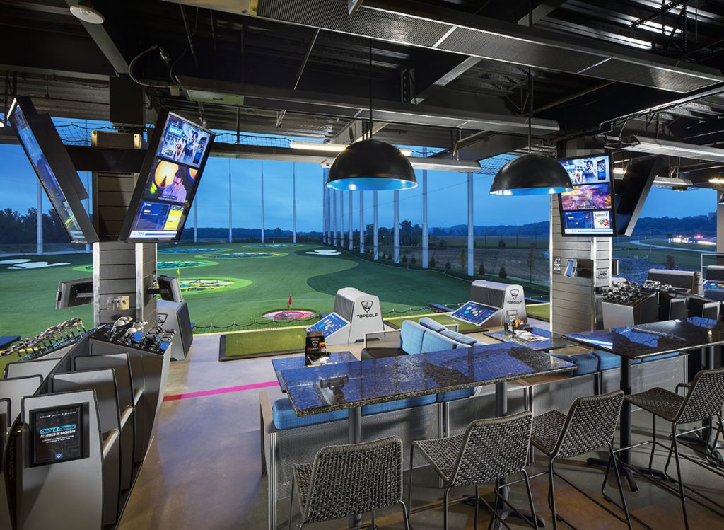 Topgolf game bays